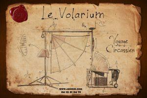 Croquis Volarium affiche provisoire arrreuh